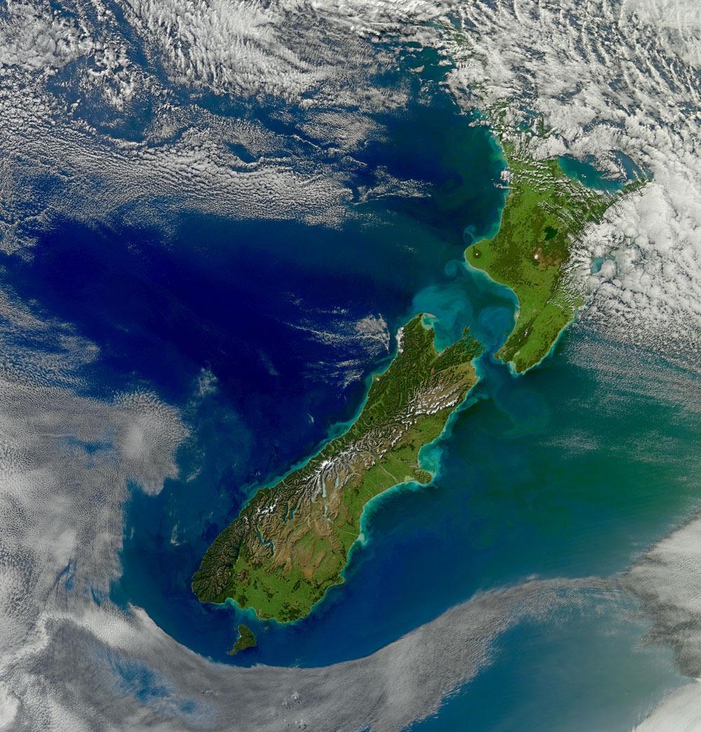 South Island To South Pole New Zealand