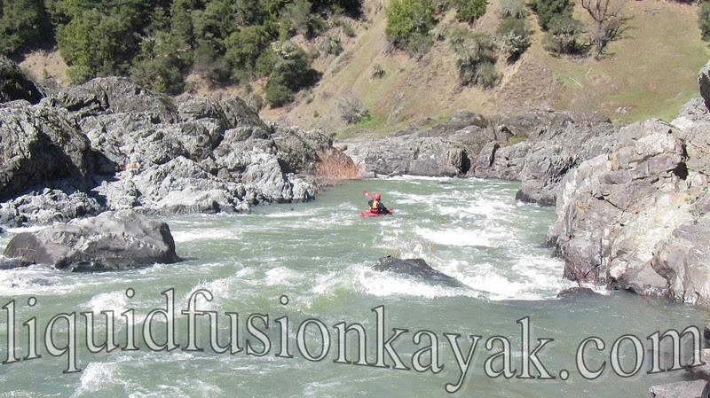 Whitewater Kayaking on Mendocino Eel River
