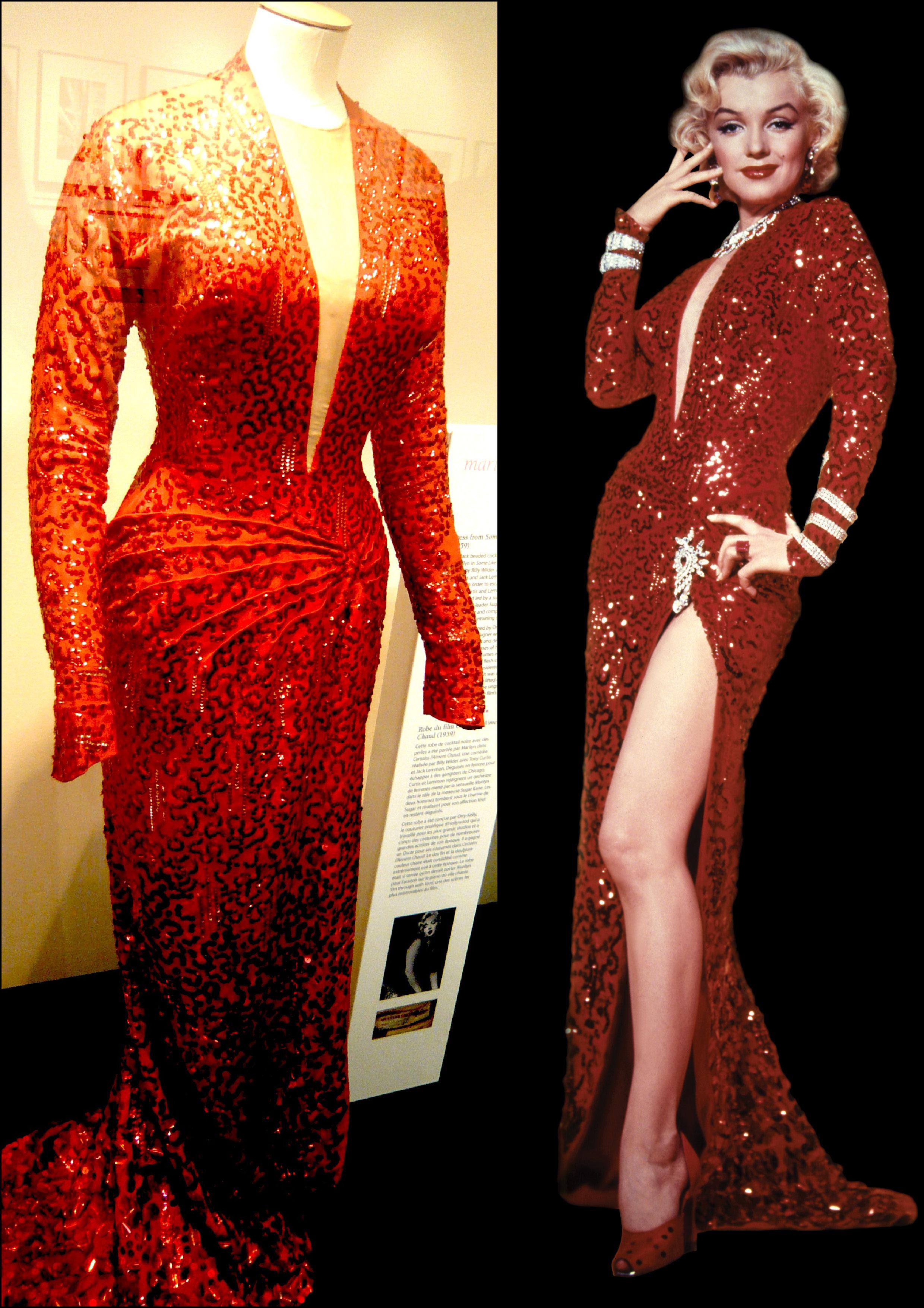 marilynmonroe: NEW MARILYN MONROE PINK DRESS