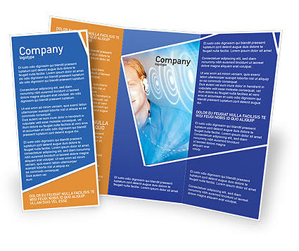 Waves Brochure Template
