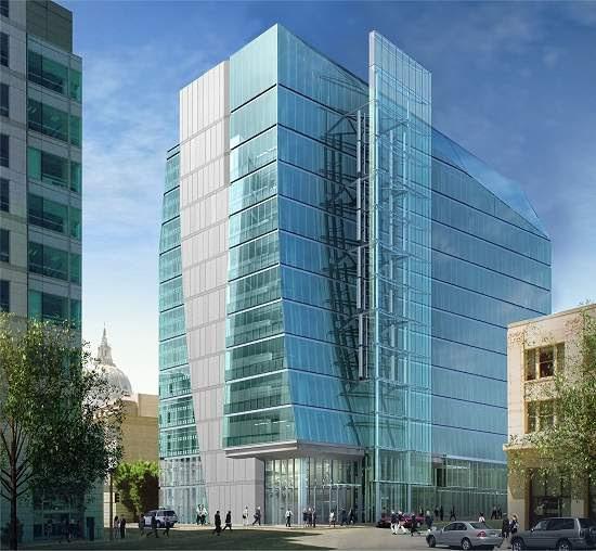 Edifício verde tem asa vertical para gerar energia