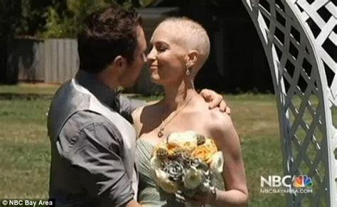 Jen Bulik with terminal cancer gets dream wedding after