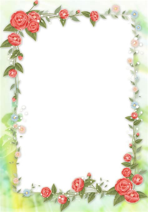 syed imran flower frame pack png