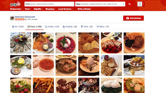 Yelp Is Using Artificial Intelligence to Help You Find Dinner