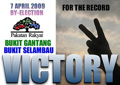 MALAYSIA'S BY-ELECTTION OF 7 APRIL 2009 by mowadoha