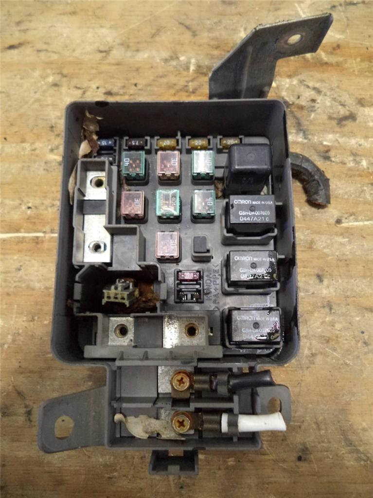 Civic Fuse Box | schematic and wiring diagram
