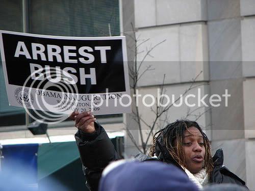 Arrest Bush at Inauguration