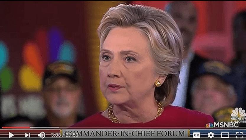 Clinton meltdown