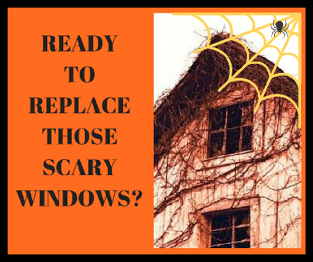 Happy Halloween Window Specials from Pro-Homes!