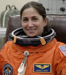 Astronaut Nicole Stott