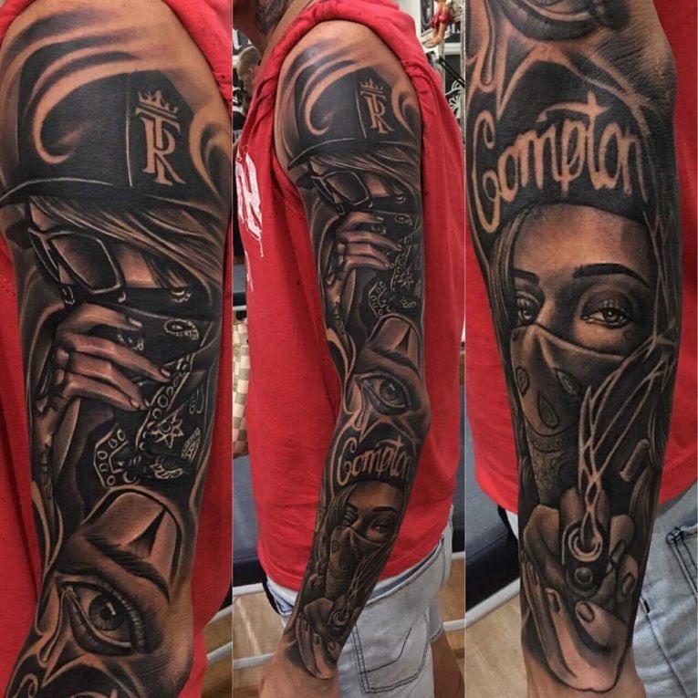 Arm Tattoos Gangster Best Tattoo Ideas