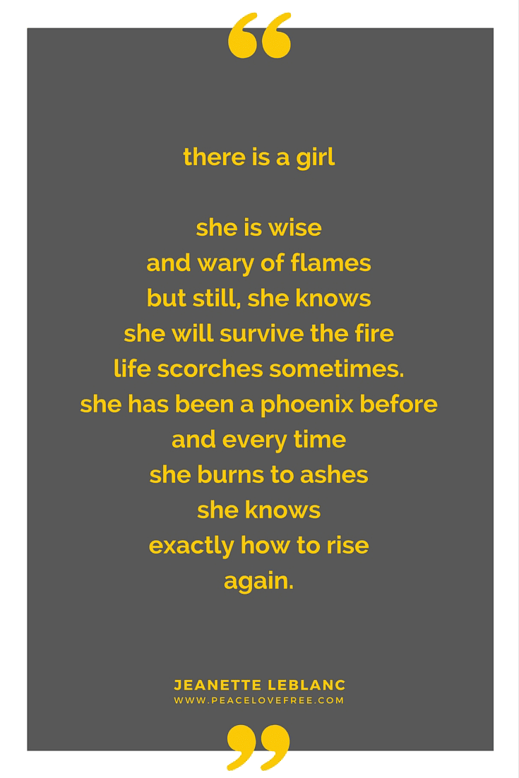 Girl On Fire A Poem For Women Ready To Light The World