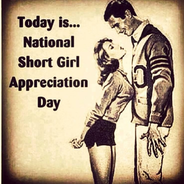 Today Isnational Short Girl Appreciation Day Pictures Photos