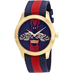 Gucci Women's YA1264061 G-Timeless Two-Tone Nylon Watch - Two-Tone