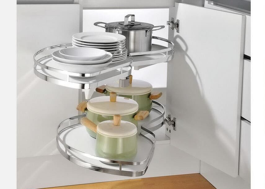 Magic Corner Swing Tray Kitchen Pull Out Basket For ...