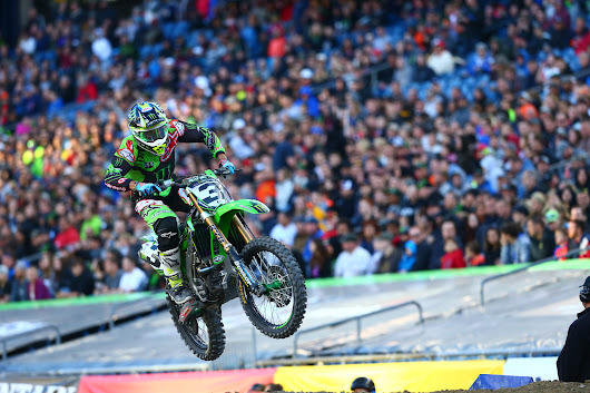 Foxborough Supercross Commentary | The 450SX Gridlock Breaks