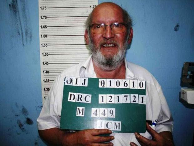 Jean-Claude Mas aparece em foto datada de 2010. (Foto: Interpol/Divulgação)