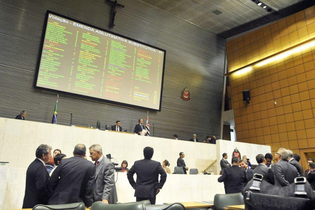 Plenário aprova concessão de 25 para terceiros. Foto: Bruna Sampaio/Alesp.