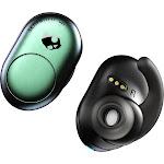 Skullcandy Push Bluetooth Wireless In-Ear True Earphones with Mic - Psychotropical Teal