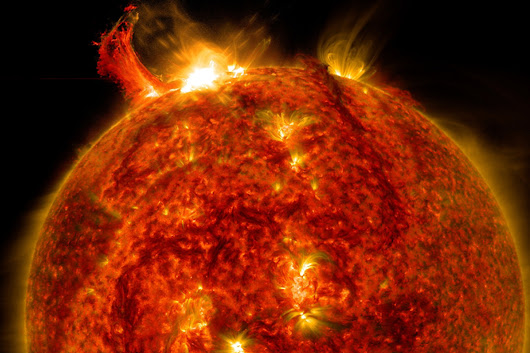 A tech-destroying solar flare could hit Earth within 100 years
