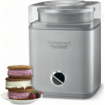 Cuisinart Frozen Yogurt Sorbet & Ice Cream Maker Pure Indulgence 2 Qt - ICE-30BC