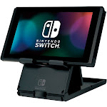 Hori Compact Playstand For Nintendo Switch Licensed by Nintendo, Black