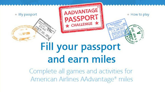 Facebook American Airlines AAdvantage Passport Challenge – 700+ Easy Miles | The #hustle Blog
