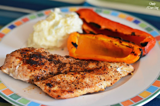 Delicious and Easy Grilled Chicken - Simply {Darr}ling