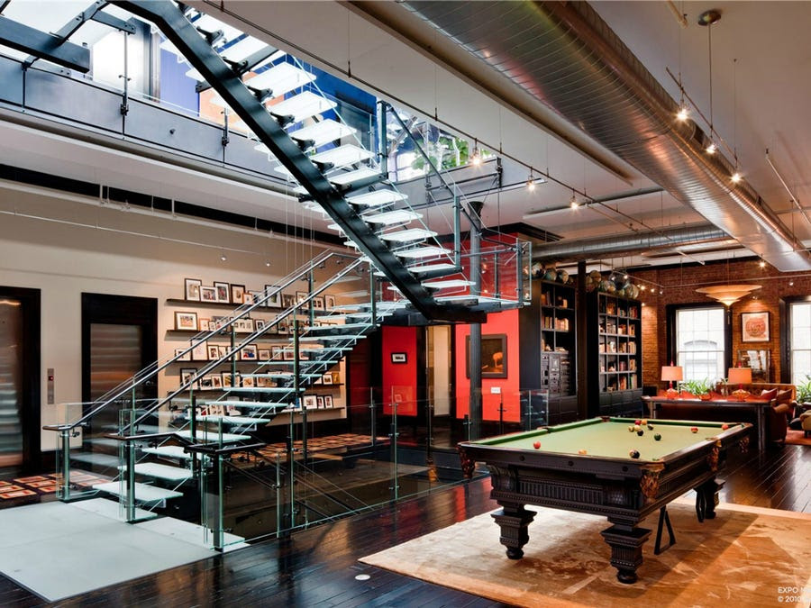 HOUSE OF THE DAY: A 6-Story Tribeca Loft With An Indoor Basketball ...