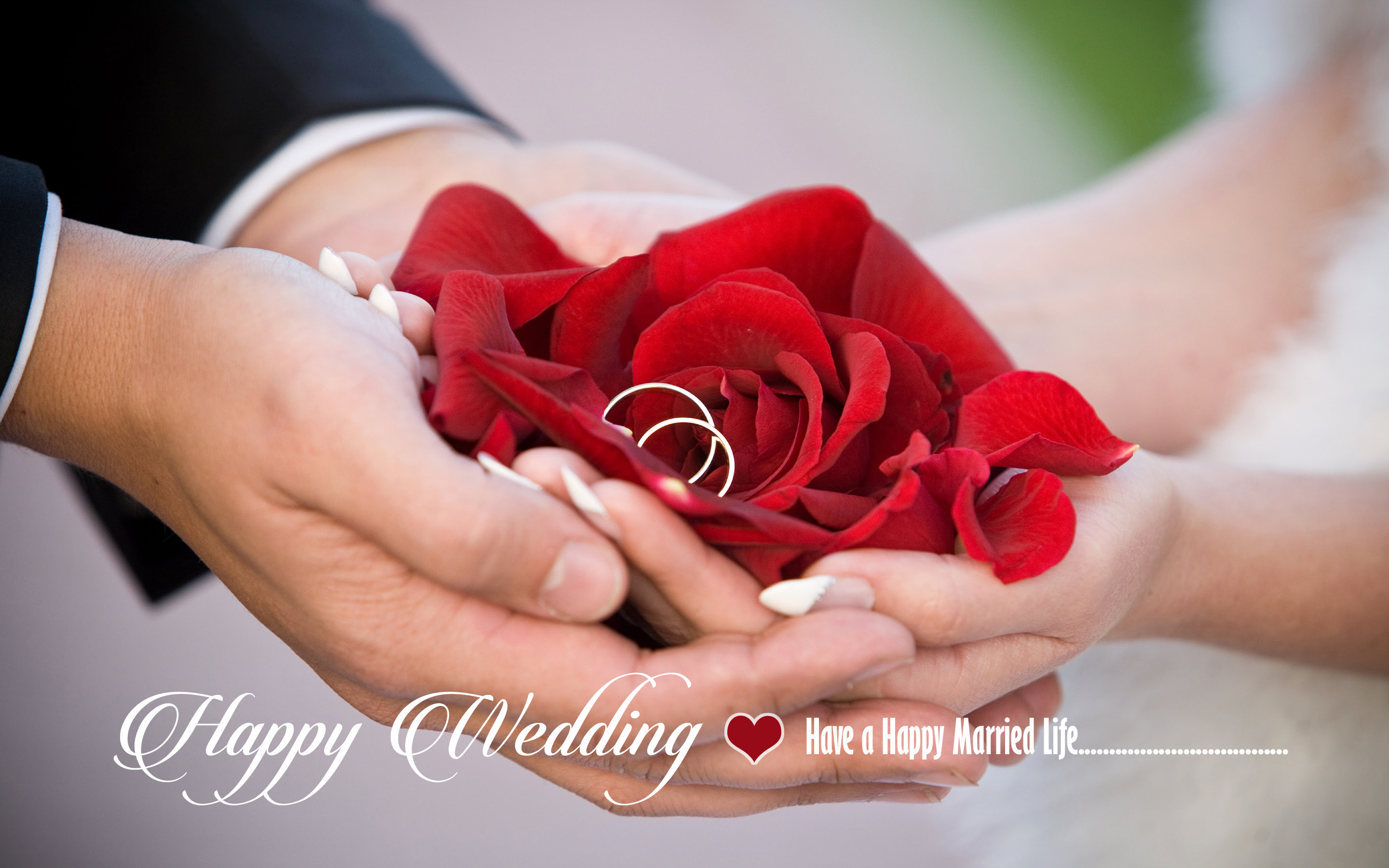 Happy Wedding Have A Happy Married Life