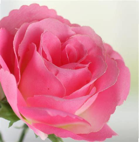 Ultra Pink Artificial Rose Pick   Picks   Sprays   Floral