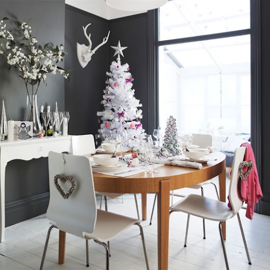 Chic Christmas decor....