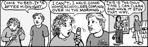 Home Spun comic strip #712