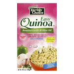 Nature's Earthly Choice Roasted Garlic & Olive Oil Quinoa - Case of 6 - 4.8 oz