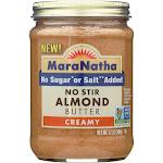 MaraNatha No Stir Creamy Almond Butter - 12 oz jar