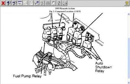 Plymouth Fuel Pump Diagram - Wiring Diagram