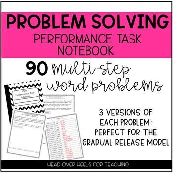 Multi-Step Problem Solving Performance Task {Notebook}