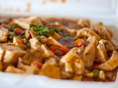 Tofu and... sauce