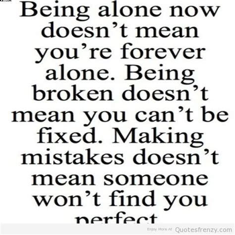 Quotes About Being Single Forever