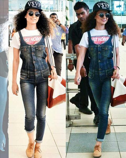 Bollywood Ladies Who Rock Dungarees
