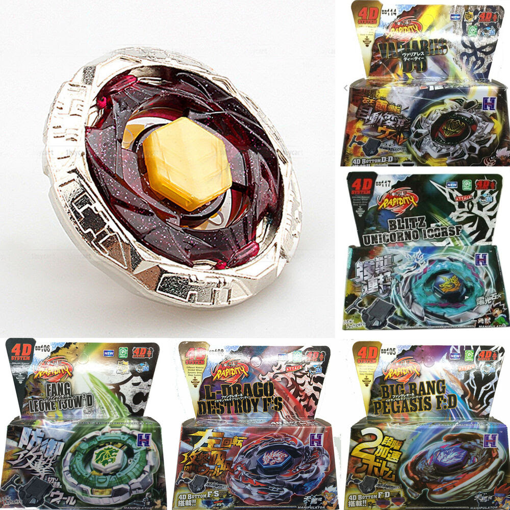 Fusion Top Rapidity Fight Metal Master Beyblades 4D ...