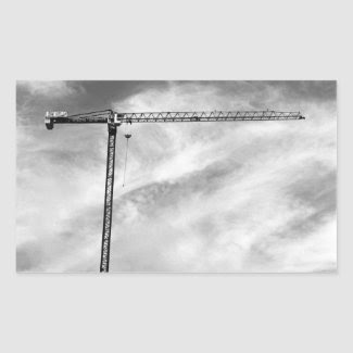 Construction Crane sticker