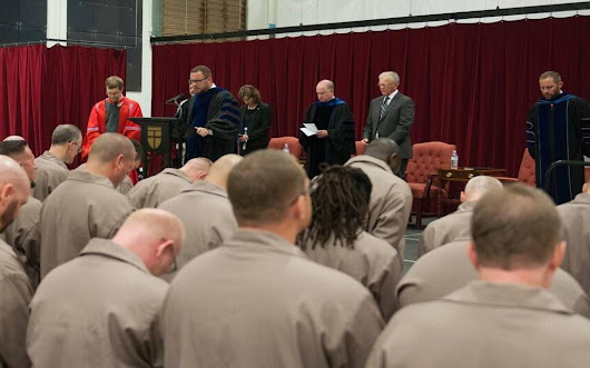 In four years these prisoners could be pastors. But that won't get them out of prison.