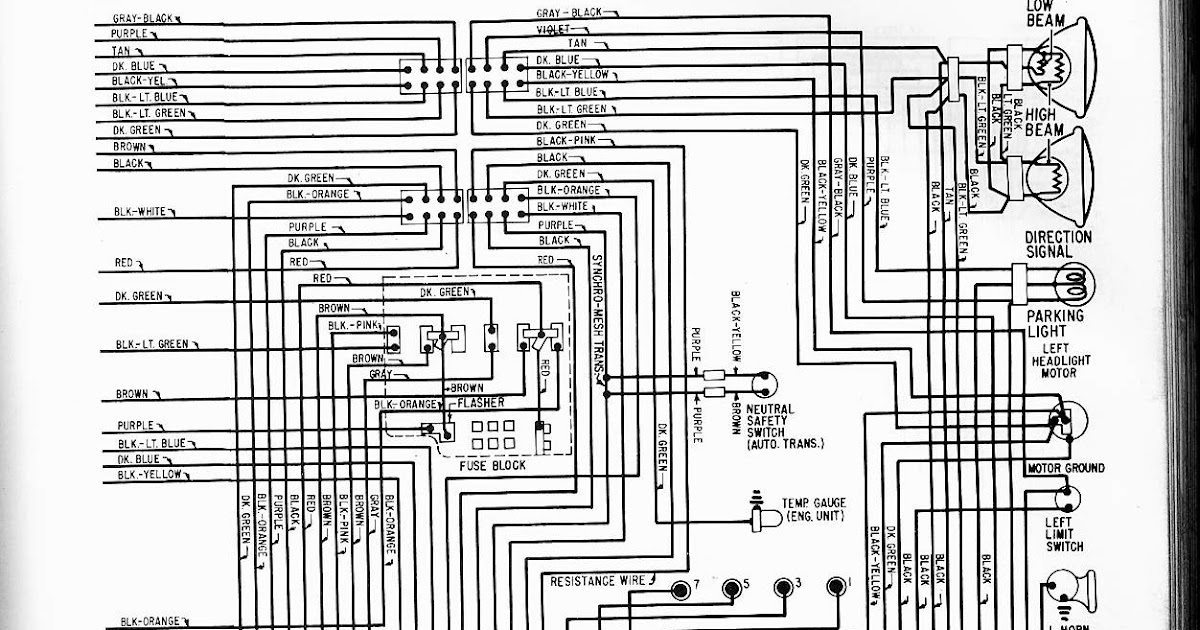 1965 Impala Wiring Diagram