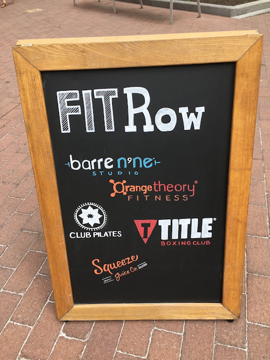 Oh Boy! Title Boxing Kicked My Butt At Fitrow's Health And Wellness Event