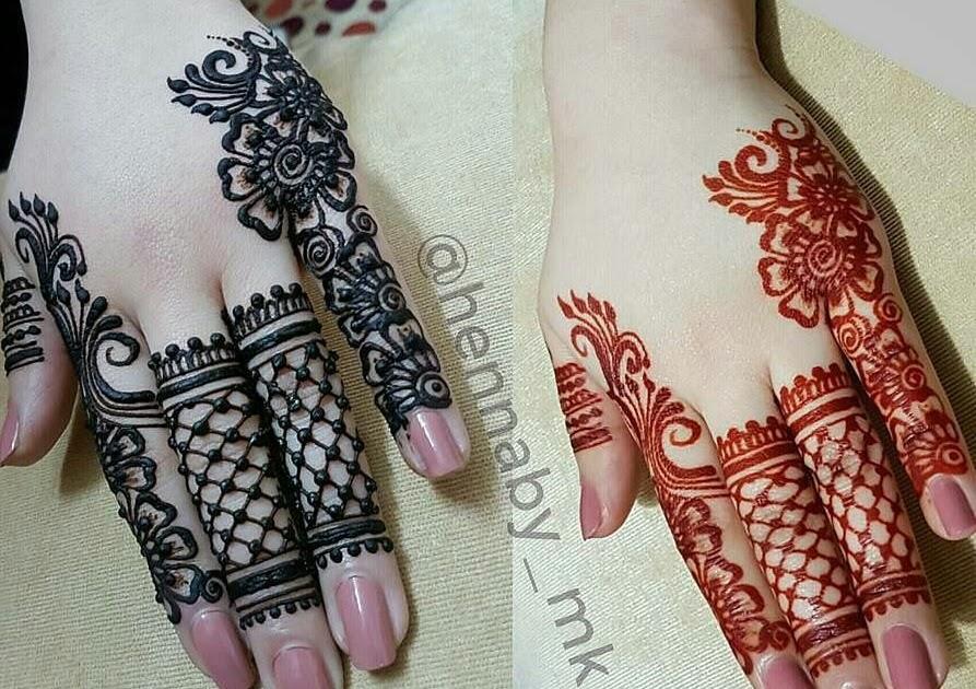 Finger Mehndi Design On Instagram Easy Mehndi Design