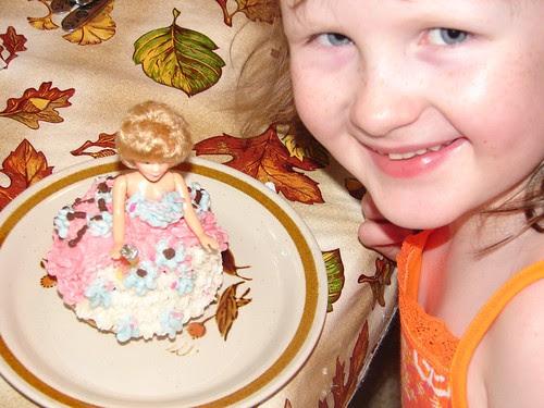 Mini Doll Cupcake