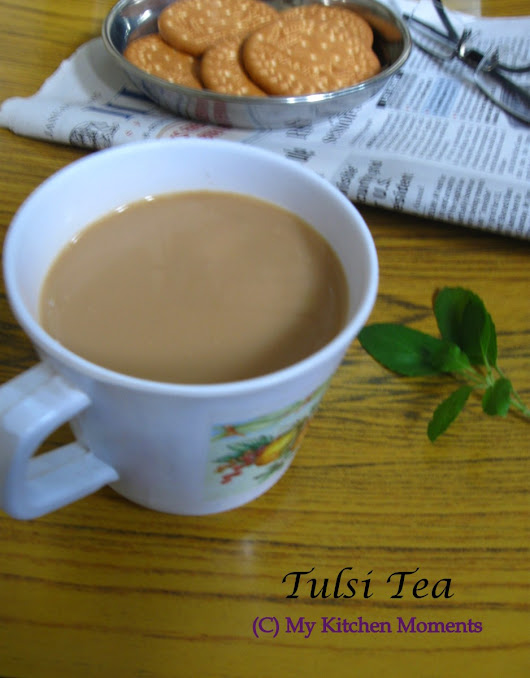 Tulsi Tea - Holy Basil Tea / Basil Leaves Tea