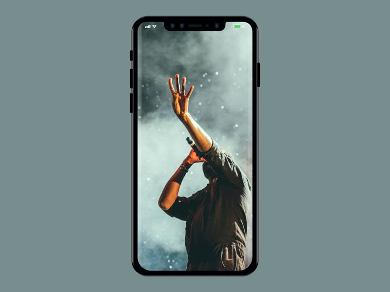 iphone x mockup darshit