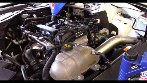 ford mustang ecoboost oil change youtube